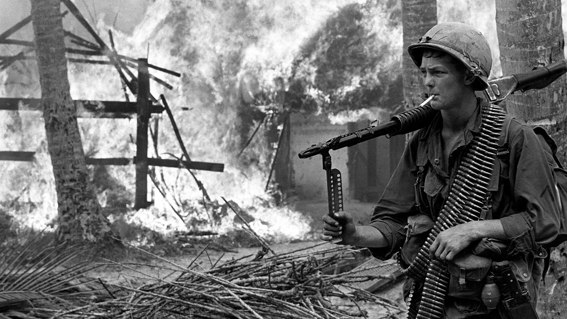 the vietnam war The following 77 days changed the course of the vietnam war the american  people were bombarded with a nightly stream of devastating.